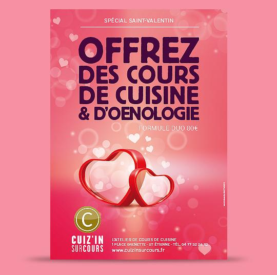 Cadeau de saint valentin offrez des cours de cuisine et - Offrir un cours de cuisine ...