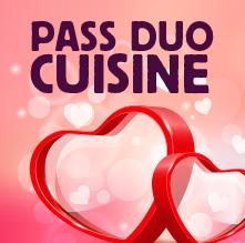 Pass Duo Cours de cuisine