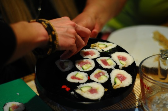 cours sushis